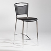 Gwen Contemporary Black Counter Bar Stool - CI-GWEN-X