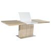 Jacquelin Rectangular Butterfly Extension Dining Table - Gloss White - CI-JACQUELIN-DT