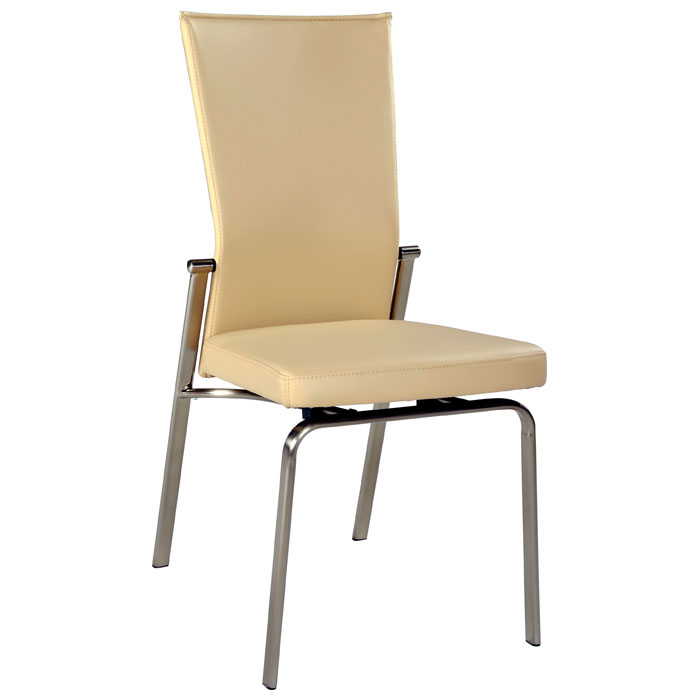 Molly Adjustable Back Dining Chair Beige Dcg Stores