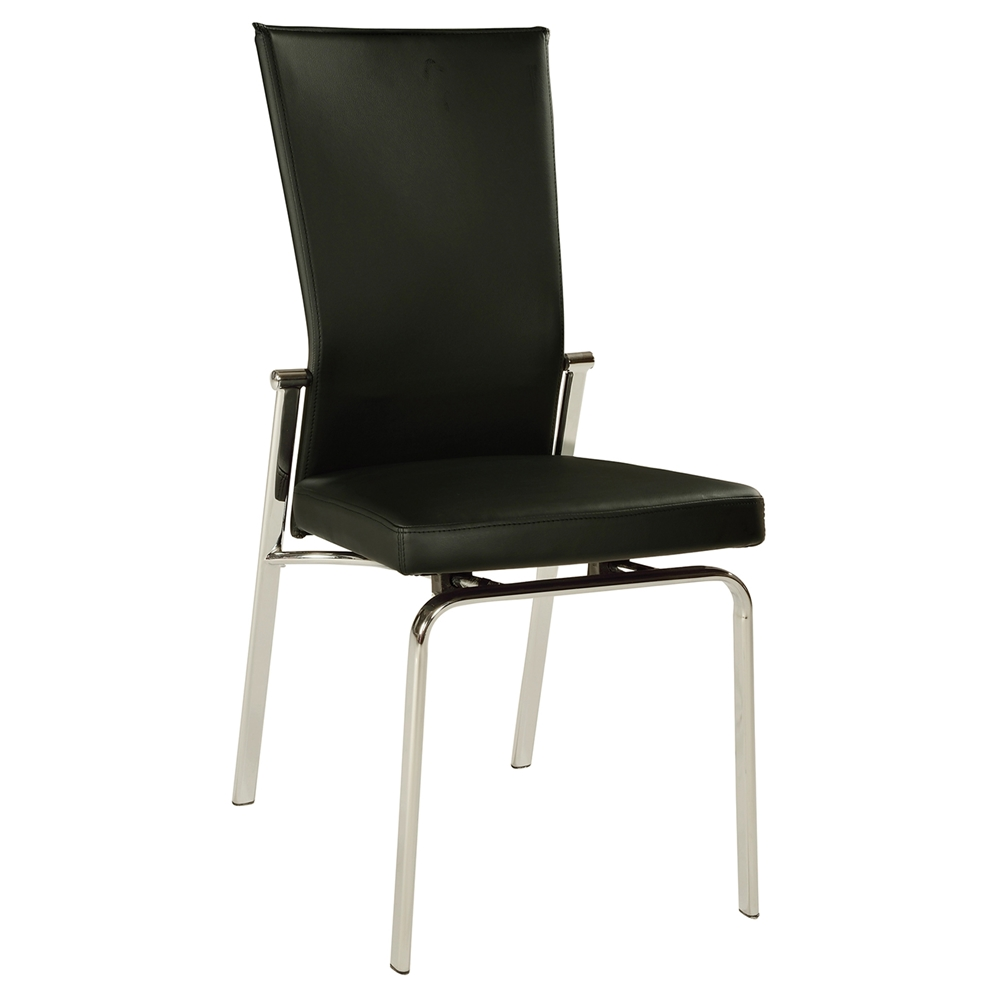 Molly Adjustable Back Dining Chair Black Dcg Stores
