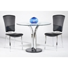 Agnes 36 Inch Round Dining Table Set Dcg Stores