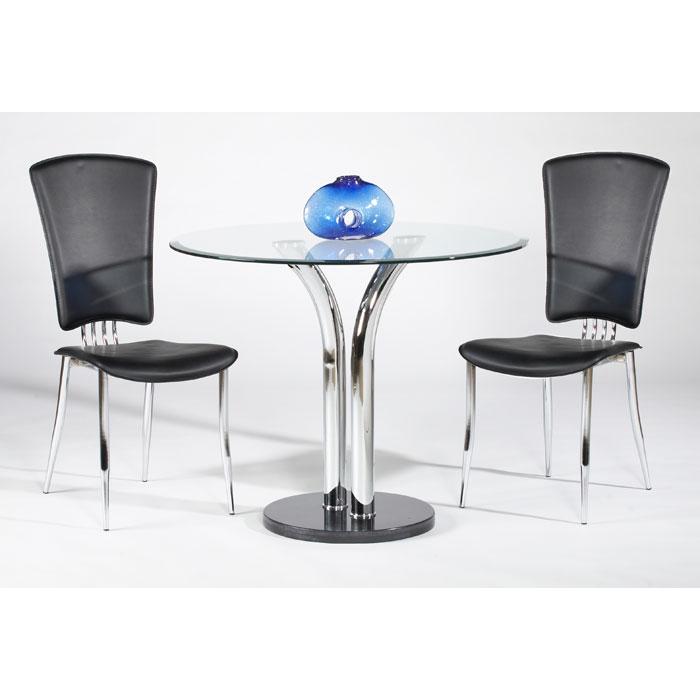 Agnes Inch Round Dining Table Set DCG Stores - 36 inch dining table and chairs