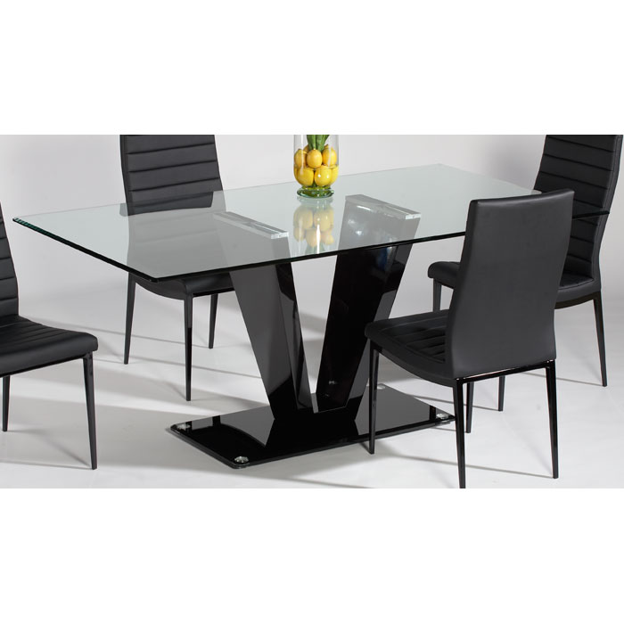 Ultimate Accents Urban 7 Piece Dining Set Reviews: Victoria Black 5 Piece Dining Set