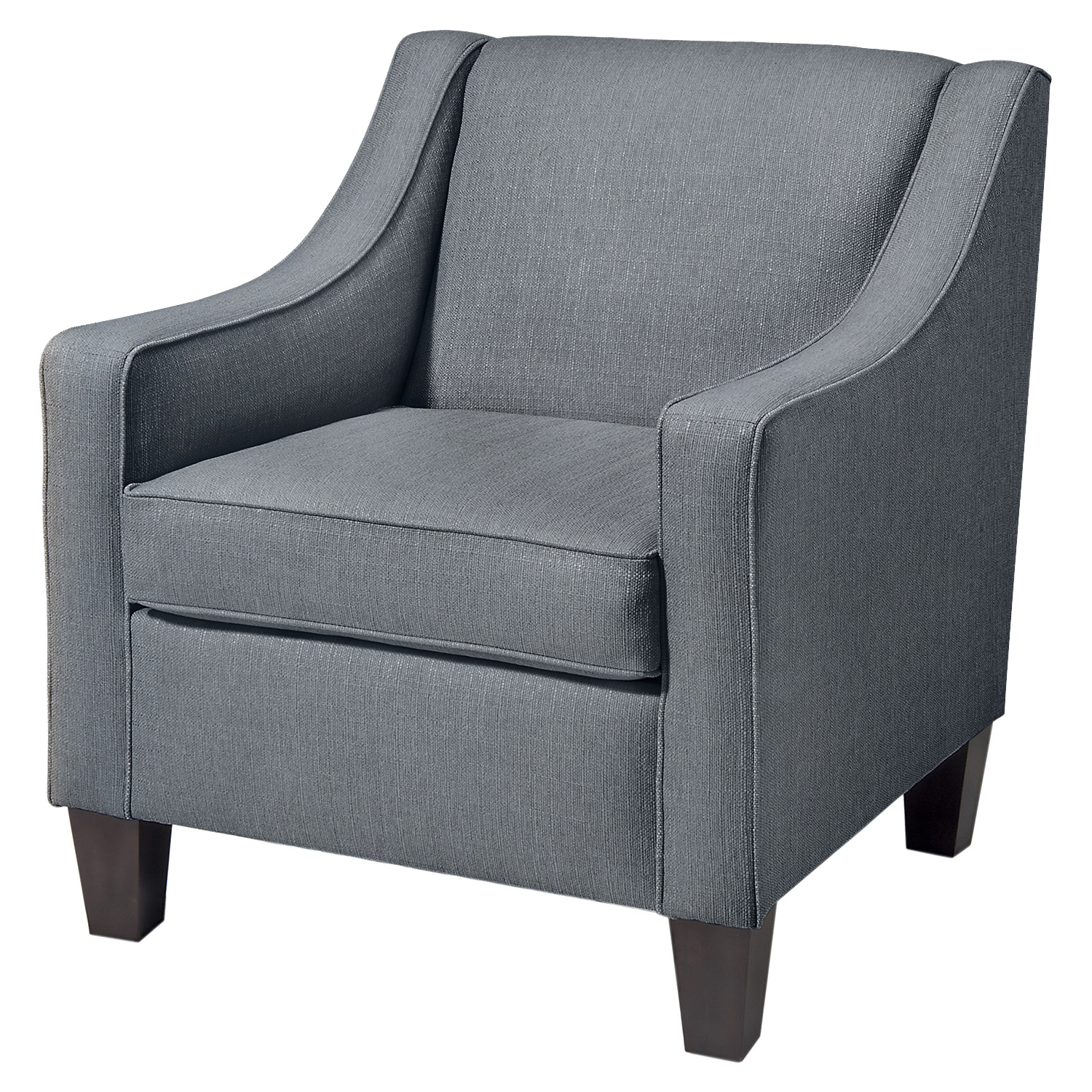 Ellery Club Chair - Charcoal