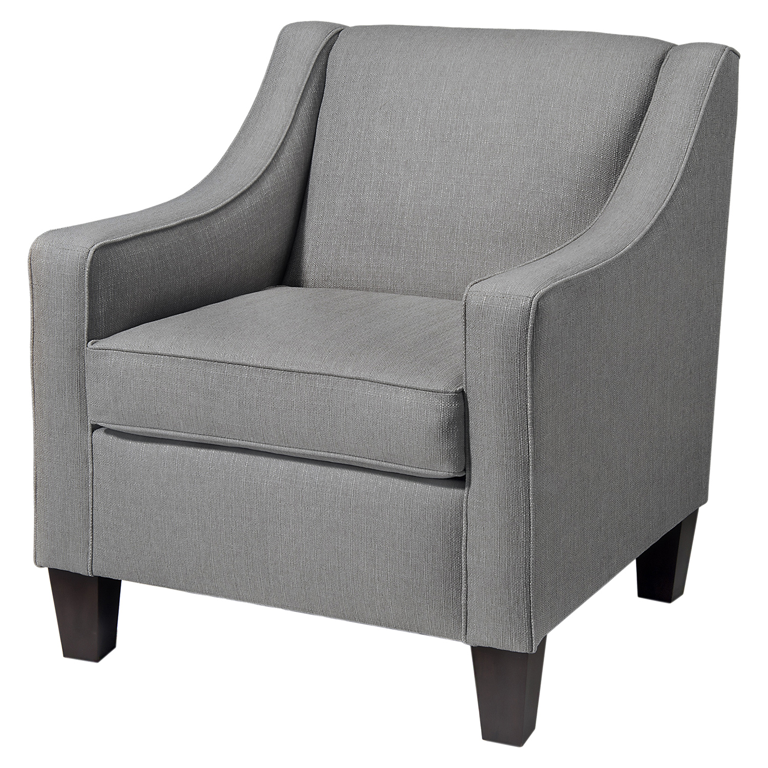 Ellery Club Chair - Granite