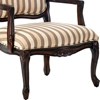 Hayward Striped Chenille Accent Chair - CP-100-03
