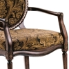 Madison Paisley Chenille Accent Chair - CP-116-01