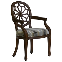 Addison Cobweb Back Accent Chair