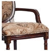 Belmont Accent Chair with Floral Chenille Seat and Back - CP-119-03