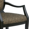 Lenox Leopard Print Chenille Accent Chair - CP-121-03