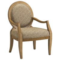Emerson Biscotti Finished Wood Accent Chair