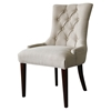 Madelyn Chair - Beige, Button Tufted - CP-200-01