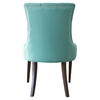 Madelyn Chair - Caribbean, Button Tufted - CP-200-04