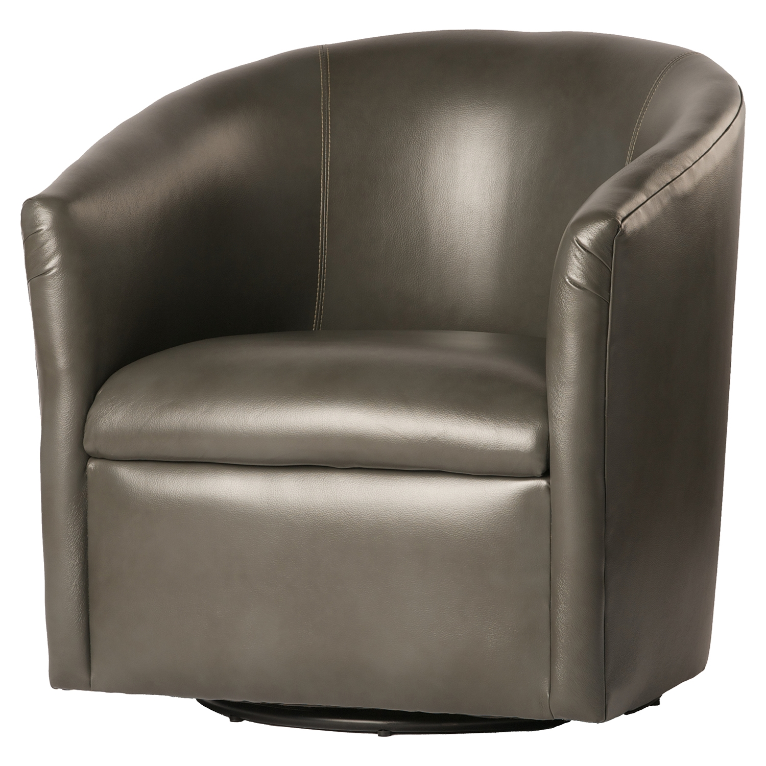 Draper Swivel Chair - Pewter