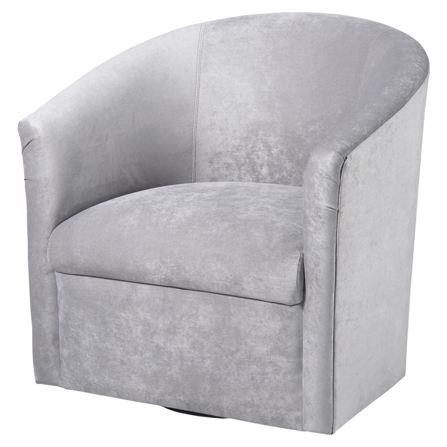 Elizabeth Swivel Chair - Silver