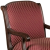 Fremont Lounge Chair with Hand Carved Accents - CP-3177-SAFARI-MAGENTA