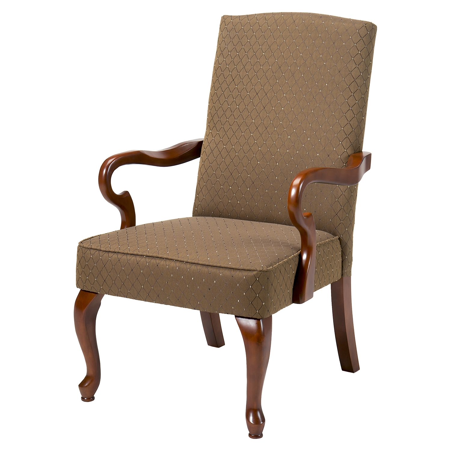 Crystal Gooseneck Arm Chair - Copper