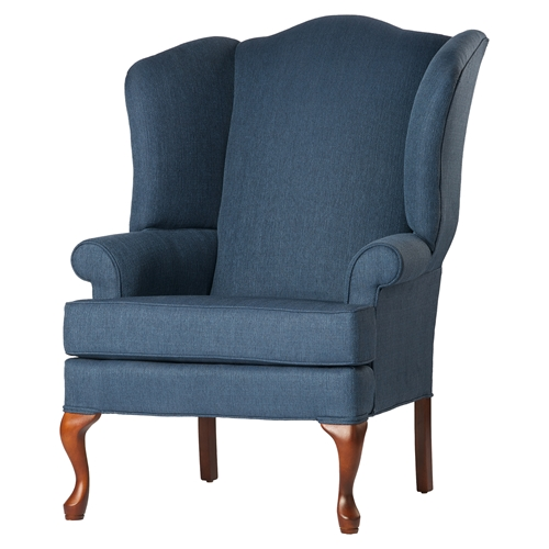 Crawford Wing Back Chair Sky Cherry Dcg Stores