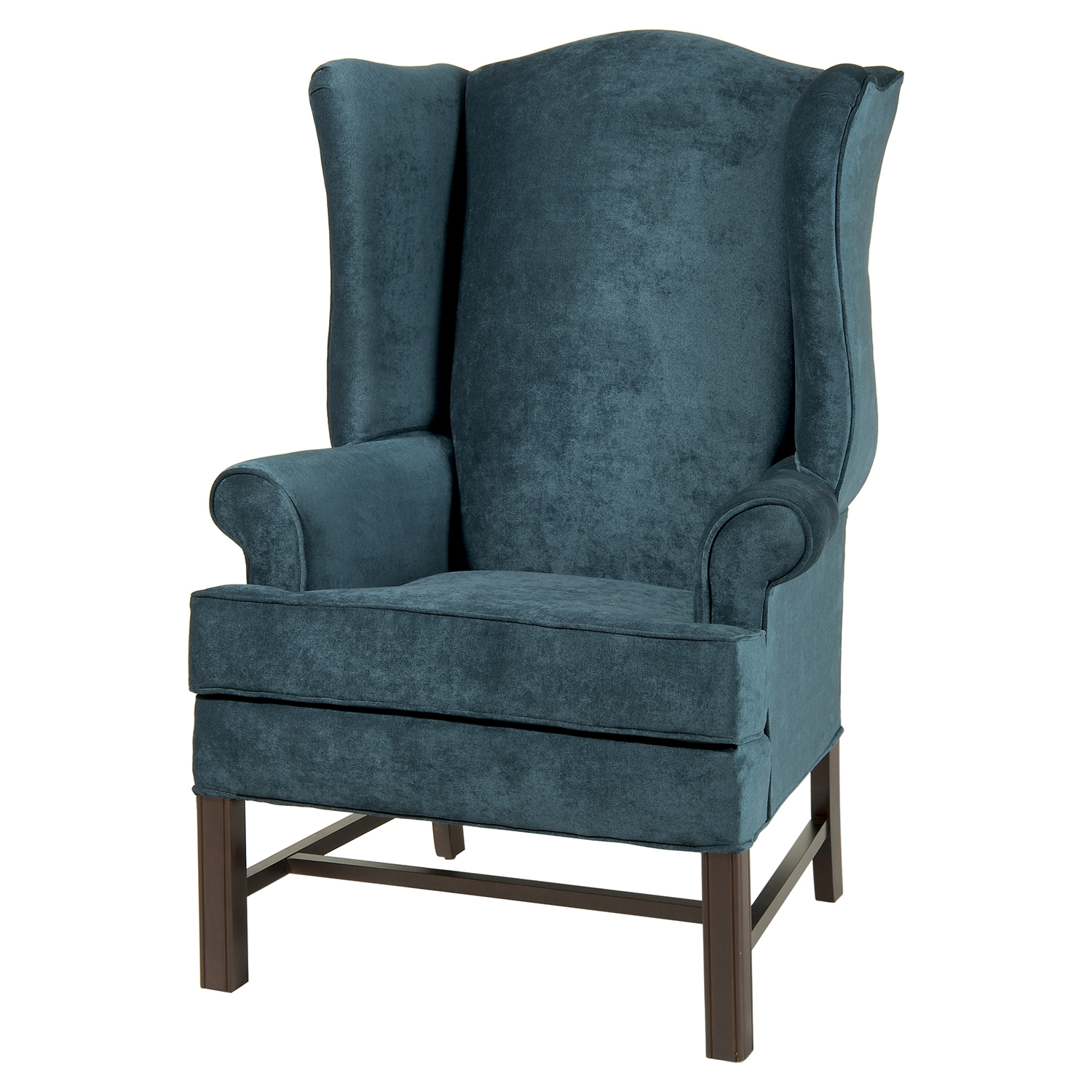 Chippendale Wing Chair - Ocean