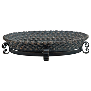 Monticola Tray with Iron Stand