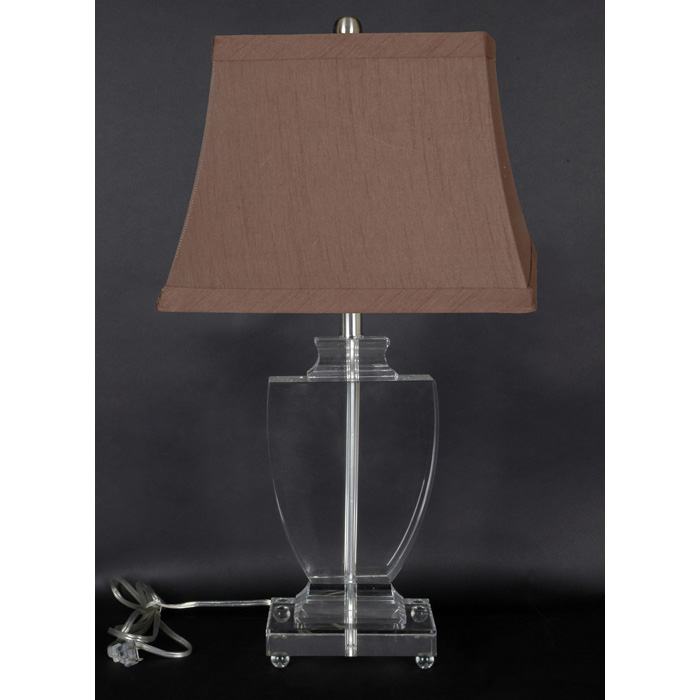crystal urn base table lamp dcg stores. Black Bedroom Furniture Sets. Home Design Ideas