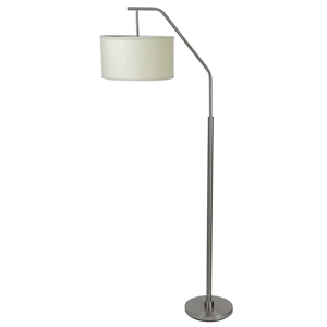 Dinsmore Floor Lamp in Brushed Nickel