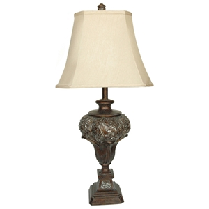 Brushed Umber Table Lamp