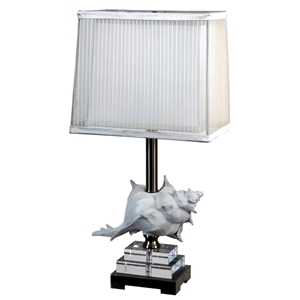 Shell Accent Table Lamp