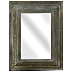 Dakota Rustic Style Rectangular Mirror