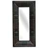 Brisbane Tall Mirror with Leather Frame - CVC-CVIMR016