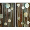 Metallic Pops 4-Piece Wall Art - CVC-CVTOP1180