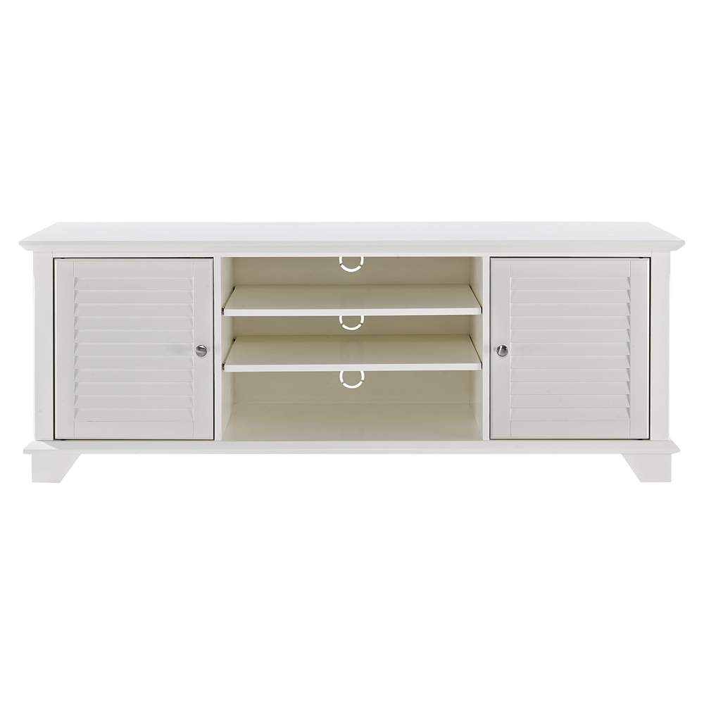 Palmetto 60 Low Profile Tv Stand White Dcg Stores