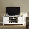 "Palmetto 60"" Low Profile TV Stand - White - CROS-CF100760-WH"