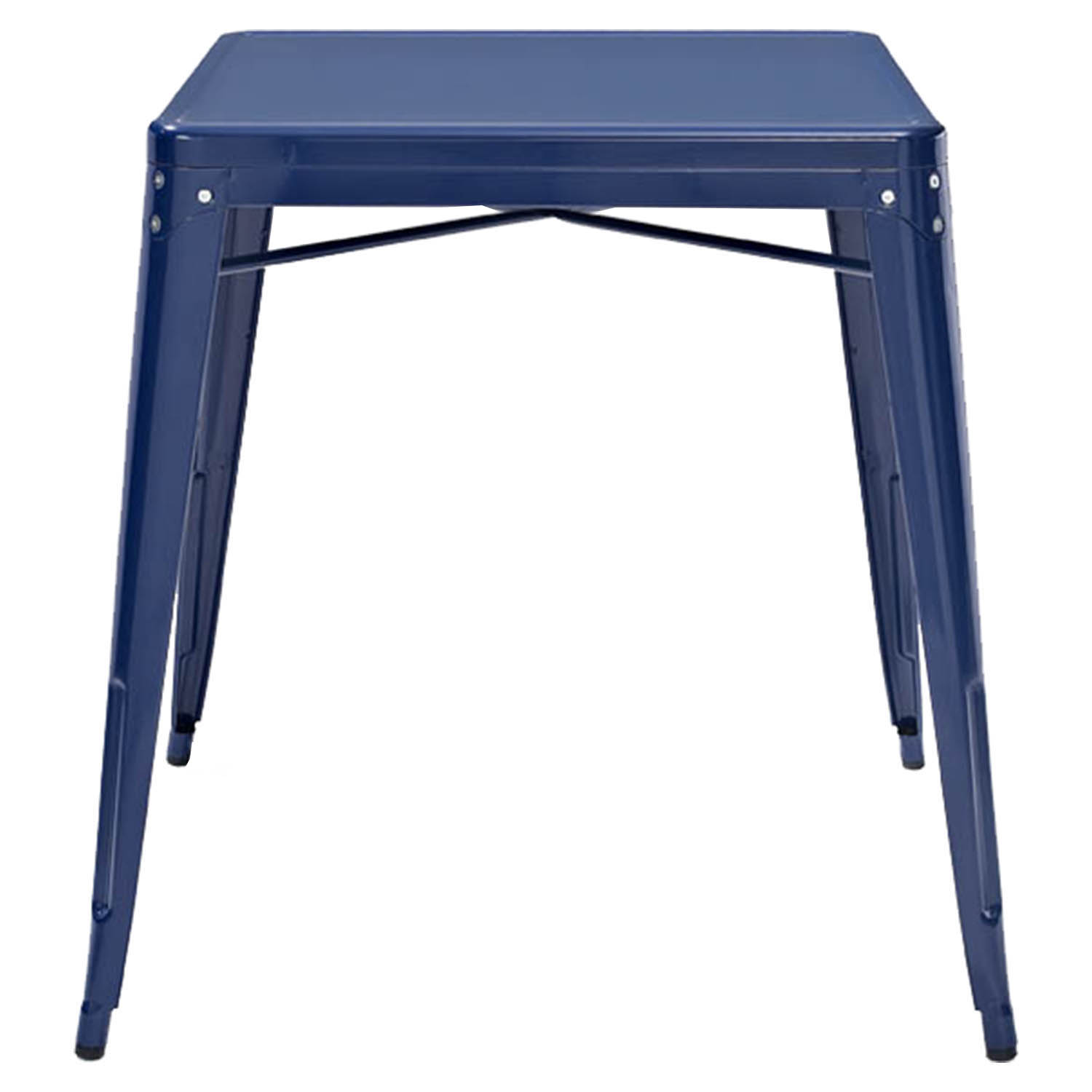 Amelia Metal Cafe Table Blue Dcg Stores