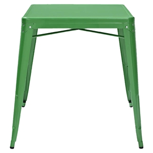 Amelia Metal Cafe Table - Green