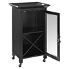 Jefferson Portable Bar - Black - CROS-CF4004-BK