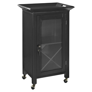 Jefferson Portable Bar - Black