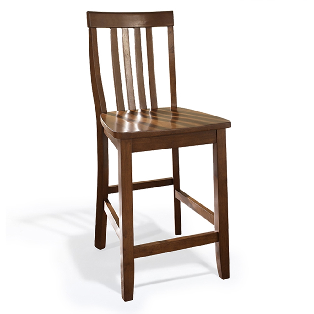 School House Bar Stool With 24 Inch Seat Height Classic