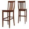 School House Bar Stool with 30 Inch Seat Height - Classic Cherry (Set of 2) - CROS-CF500330-CH