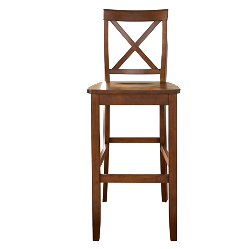 X Back Bar Stool with 30 Inch Seat Height Classic Cherry  : cf500430 ch 1 from www.dcgstores.com size 1000 x 1000 jpeg 119kB