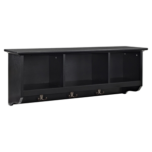Brennan Entryway Storage Shelf - Black