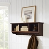 Brennan Entryway Storage Shelf - Mahogany - CROS-CF6004-MA