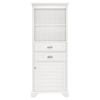 Lydia Tall Cabinet - White - CROS-CF7001-WH