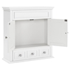 Lydia Wall Cabinet - White - CROS-CF7004-WH