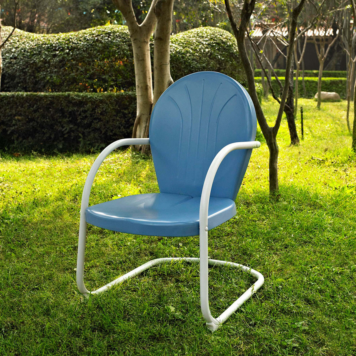 Griffith Metal Chair - Sky Blue - CROS-CO1001A-BL