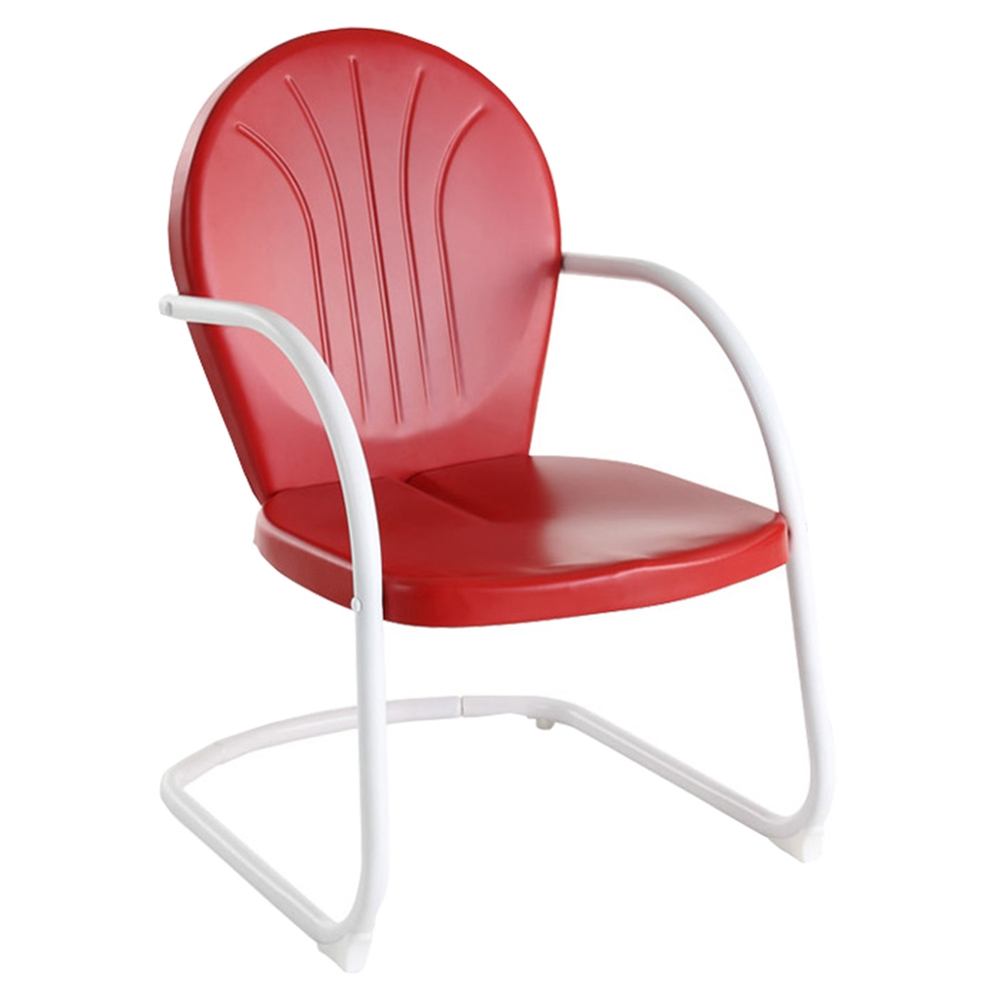 Griffith Metal Chair Red Dcg Stores