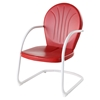 Griffith Metal Chair - Red - CROS-CO1001A-RE