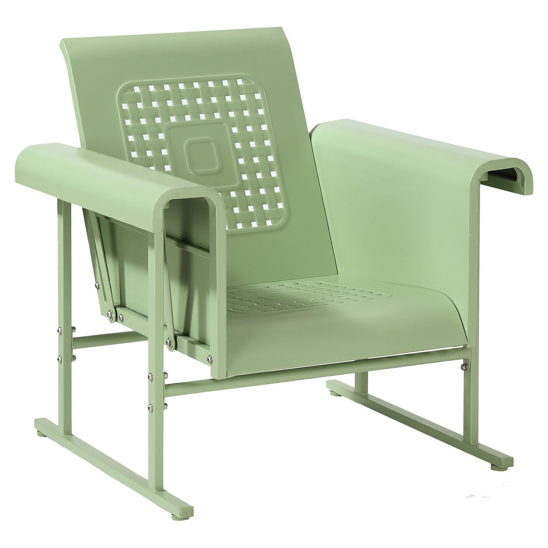 Veranda Single Glider Chair Oasis Green Dcg Stores