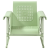 Veranda Single Glider Chair - Oasis Green - CROS-CO1005A-GR