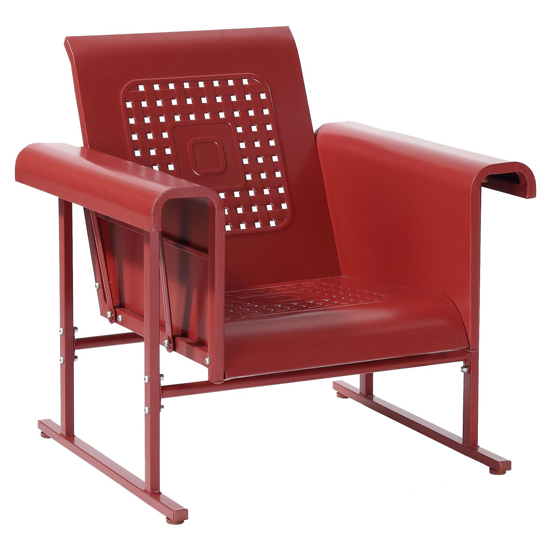 Single Glider Chair Outdoor Veranda Single Glider Chair